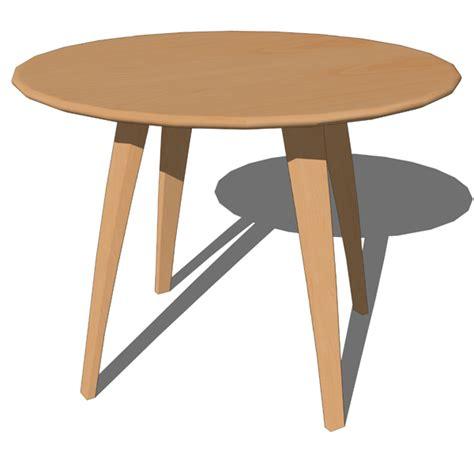 cherner dining tables 3d model formfonts 3d models