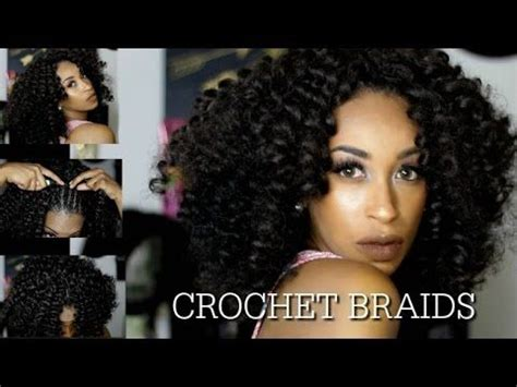 marley crochet weave pre curled hair youtube how to crochet braids for beginners step by step tutorial