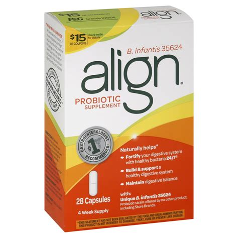 Probiotic Detox Side Effects by Align Probiotic Supplement Capsules 28 Capsules Health