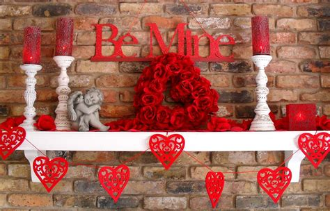 day home decor excellent s day home decor with candlelight and simple rack wall mount ideas
