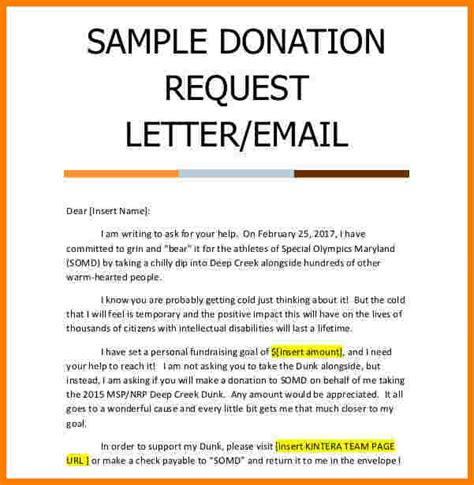 charity letter one show 11 donation request letter template sales slip template