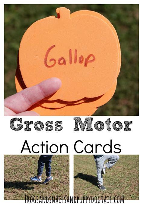 gross motor actions gross motor cards fspdt