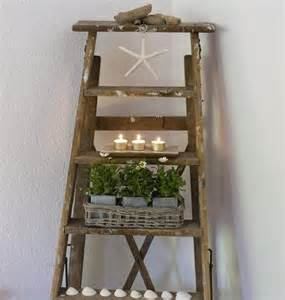 Table Ladders And Chairs Old Wood Ladder Ideas
