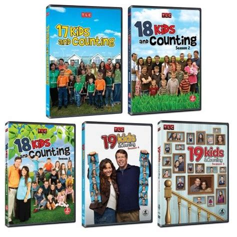 19 And Counting Also Search For 19 And Counting Seasons 1 5 Dvd Set For The Home