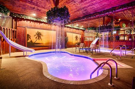 in room pool suites chicago chalet swimming pool suite sybaris weekend getaways in chicago milwaukee indianapolis