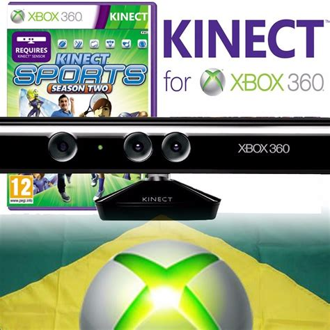 Xbox 360 Kinect Sensor Refurbish kinect sensor xbox 360 slim orig refurbished jogo