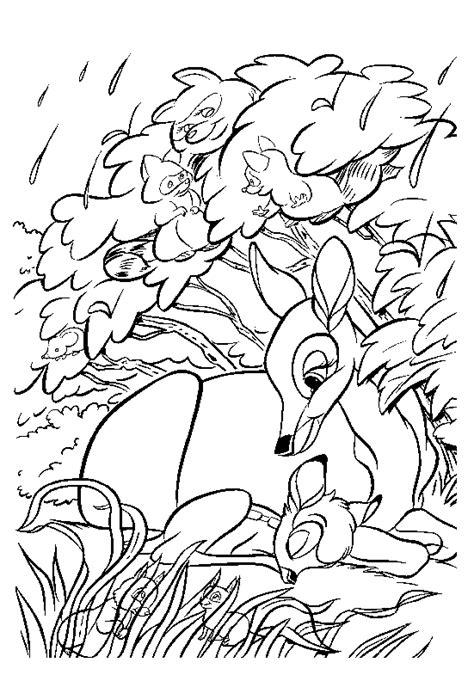 bambi coloring pages bambi coloring pages funschool