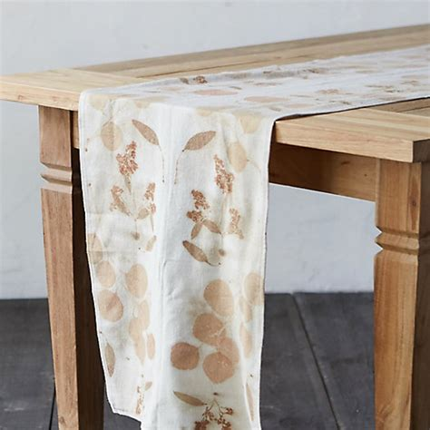 eucalyptus table runner silk table runner eucalyptus terrain