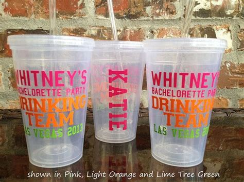 Come With Me Bachelorette Drinks by Personalized Bachelorette Tumbler 16 Ounce