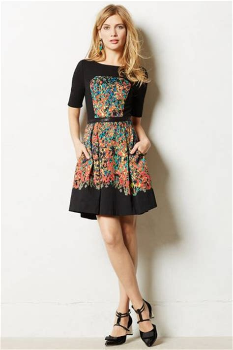 Dress Etude tracy reese etude dress in black motif lyst