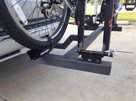 bike trailer hitch diy diy hitch bike rack pic heavy toyota 4runner forum largest 4runner forum