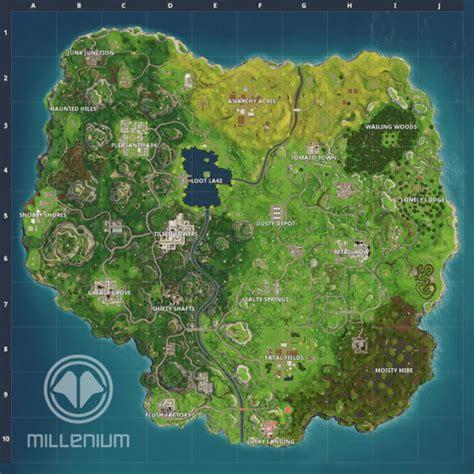 fortnite nouvelle carte saison  millenium