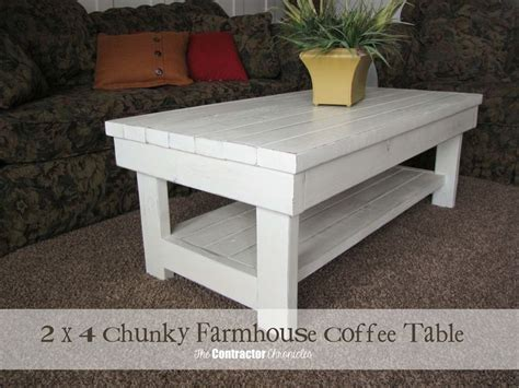 chunky farmhouse 25 best ideas about 2x4 furniture on pinterest