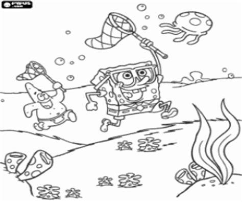 hunting hat coloring page spongebob squarepants coloring pages printable games