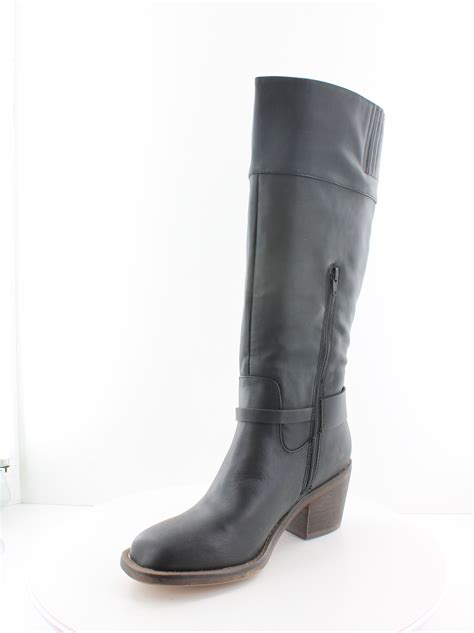 xoxo boots xoxo marisa black womens shoes size 9 5 m boots msrp 89
