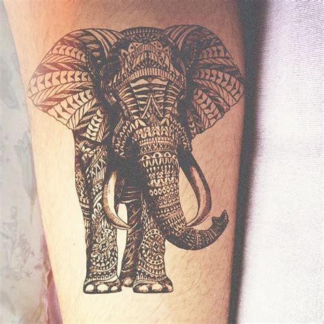 elephant tribal tattoo tribal inked elephant tribal best ideas