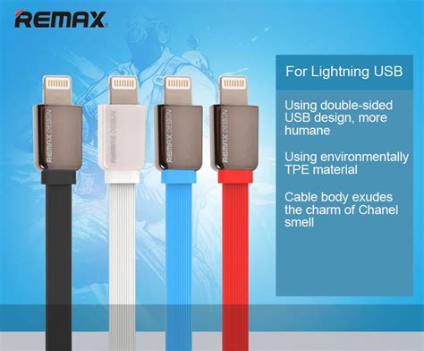Remax Cable Iphone 1m Kabel Data Lightning Charge 1 Meter remax high speed data charging lightning usb cable 1m