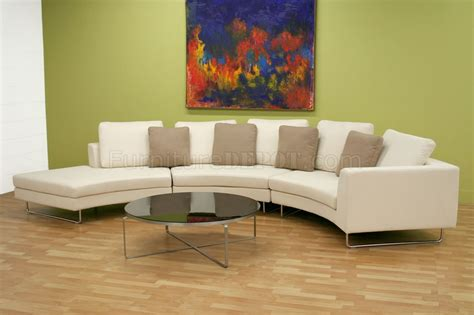 half moon sectional sofa half sectional sofa 28 images beige leather half moon