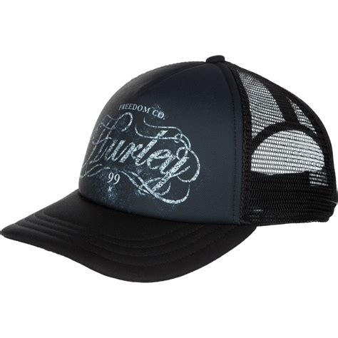hurley printed trucker hat s backcountry