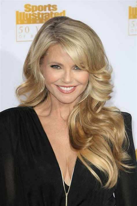 good hair color for 58 year old 273 best christie brinkley images on pinterest