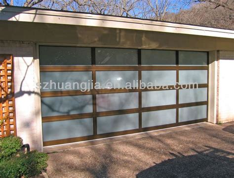 Glass Garage Door Prices by Anodized Aluminum Frame Glass Garage Door Prices Lowes