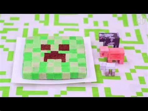 How To Decorate A Minecraft Cake by How To Decorate A Minecraft Creeper Cake