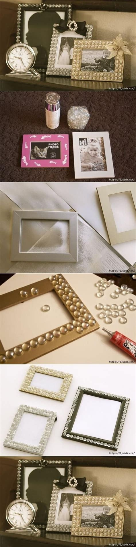 picture frame craft projects 16 creative and diy photo and picture frame style