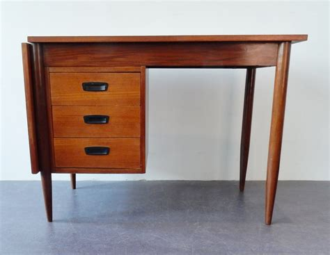 extendable desk extendable flap top writing desk from the sixties by unknown designer for unknown producer 63994