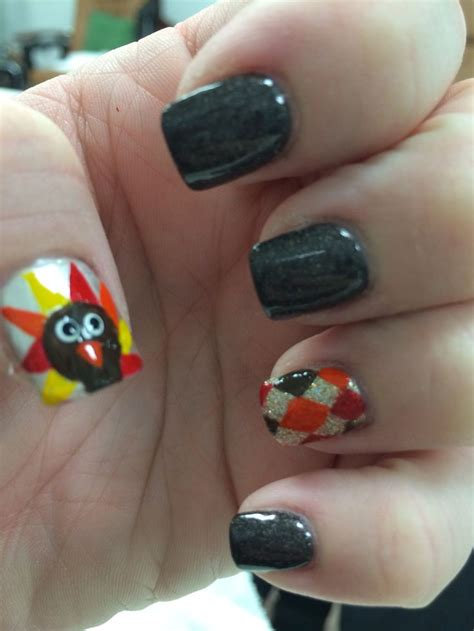 thanksgiving nail color thanksgiving nails thanksgiving pinterest
