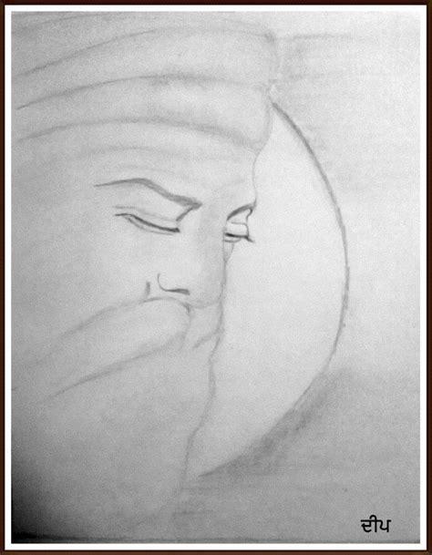 guru nanak dev ji pencil sketch desipainters com
