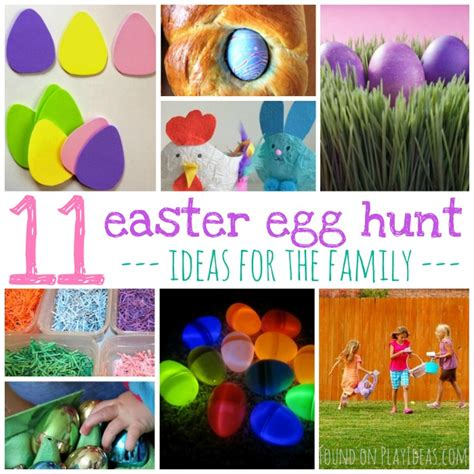 11 creative ideas for the family easter egg hunt