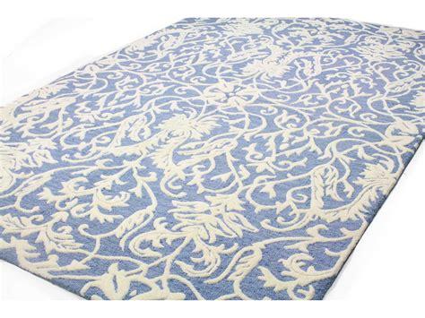 verona rugs bashian rugs verona rectangular denim area rug bshr130denlc156