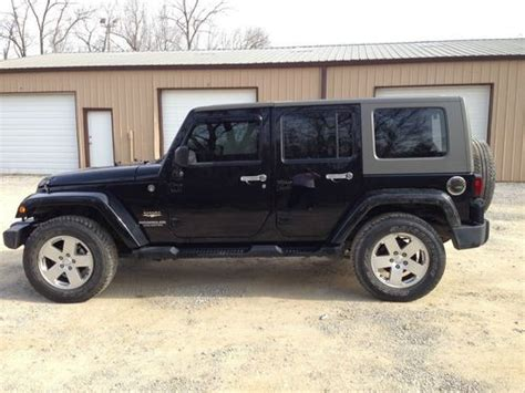 Jeep Wrangler 4 Door 2010 Purchase Used 2010 Jeep Wrangler 4 Door 4x4 Salvage