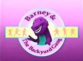 Barney And The Backyard Gang Videos Image 800px Backyard Gang Title Png Barney Wiki