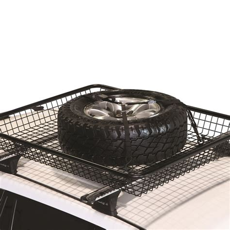 anaconda roof racks prorack voyager spare wheel restraint