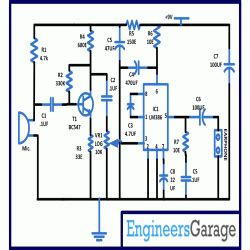 integrated circuits for hearing aids hearing aid audio lifier circuit diagram engineersgarage