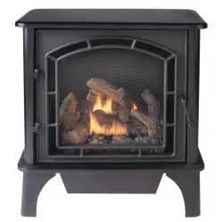 ventless gas fireplace lowes shop cedar ridge hearth 25 75 in dual burner vent free