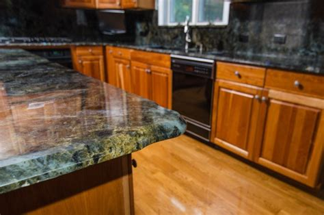 Labradorite Countertop by Lemurian Blue Labradorite Kitchen With Backsplash