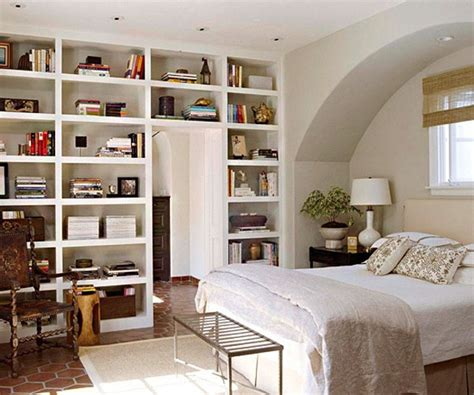 bookcase in bedroom 50 relaxing ways to decorate your bedroom with bookshelves