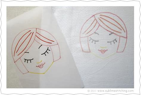 Make Your Own Tracing Paper - embroidery how to tracing paper transfer pens sublime