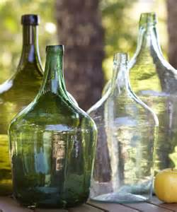 glass decorations for home rustic wine bottle decor vintage glass bottles