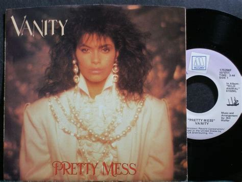 Pretty Mess Vanity by Vanity Pretty Mess Motown 1752mf Synth Pop Promo M 45