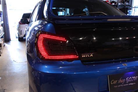 glow lights for cars car shop glow subaru impreza wrx sti gda gdb led tails