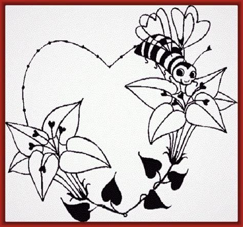 imagenes para dibujar a lapiz faciles de corazones imagenes de corazones con alas para dibujar con lapiz