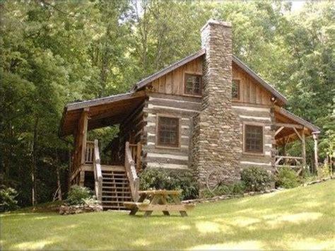 cozy cabin in winter appalachian mountain