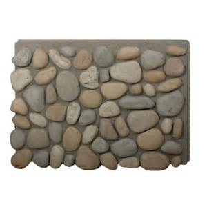Interior Wall Paneling Home Depot faux river rock