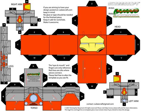 Ultimate Papercraft 3d - ultimate iron by mystermdd on deviantart