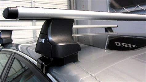 Thule 480r Traverse Aeroblade Roof Rack by Audi A6 Sedan 05 11 Thule 480r Traverse Aeroblade Roof