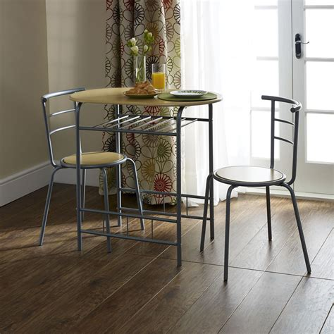 two seat dining table set breakfast dining set 3 at wilko