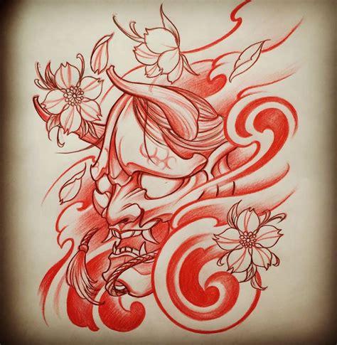 tattoo flash facebook 25 best ideas about hannya mask tattoo on pinterest oni